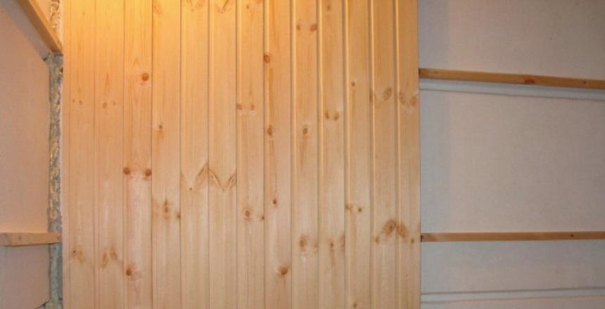 Вагонки стен своим руками 947