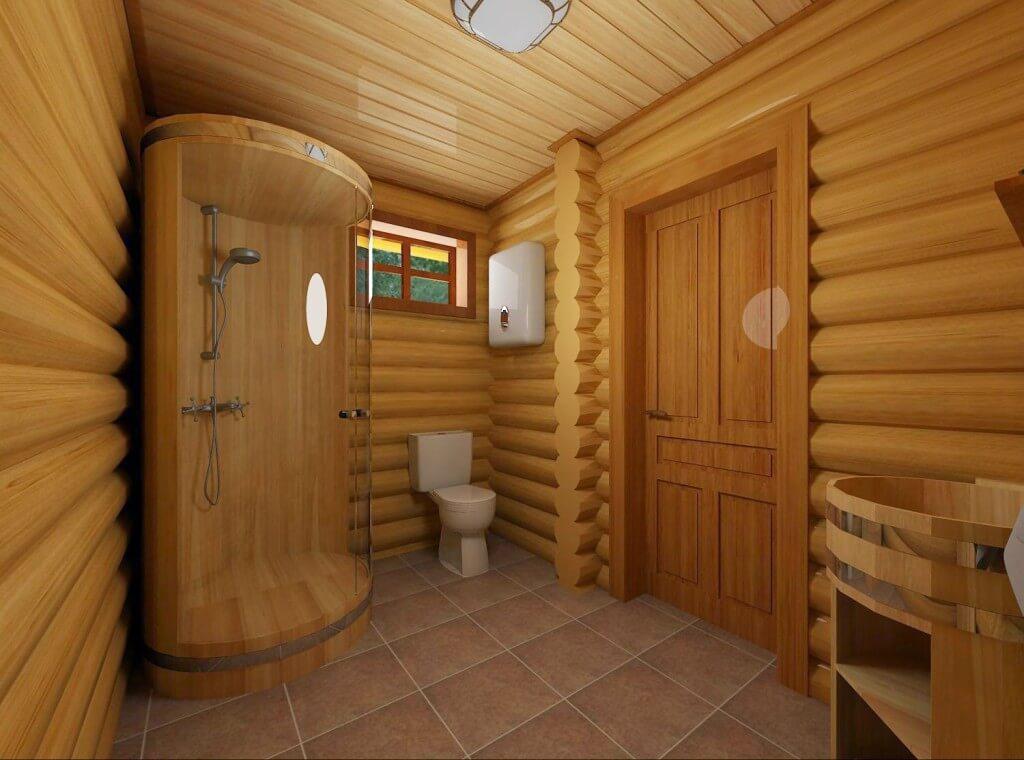 Сауны в деревянном доме своими руками 778
